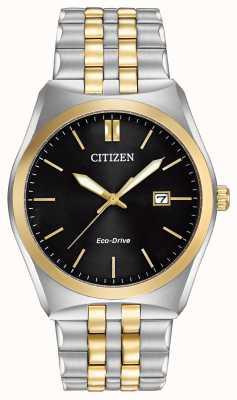 Citizen Eco-drive corso wr100 | esfera negra | correa de acero inoxidable | BM7334-58E