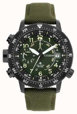 Citizen Reloj para hombre promaster althedral wr200 eco-drive BN4045-12X