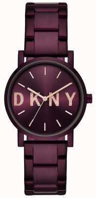 DKNY Pulsera pvd púrpura mujer Soho NY2766