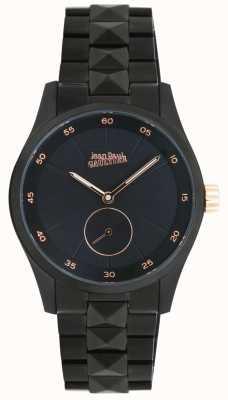 Jean Paul Gaultier Garcon manque pulsera negra para mujer JP8505204