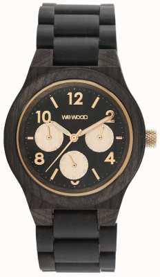 WeWood Reloj Kyra rosa negro 70371313000