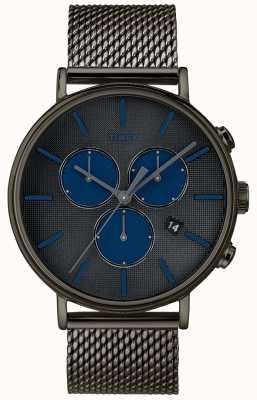 Timex Fairfield supernova chronograph watch correa de malla gris TW2R98000D7PF