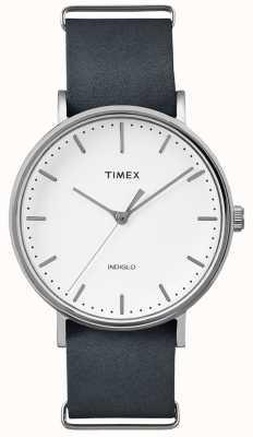 Timex Reloj de mano con correa negra Fairfield 3 TWF3C8140UK