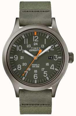Timex Expedition scout watch correa de tela verde TW4B14000D7PF