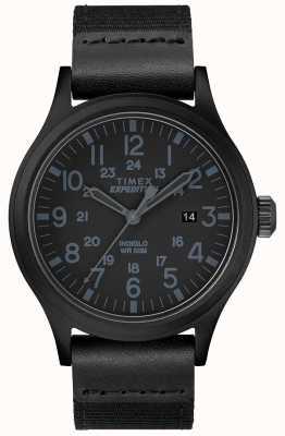 Timex Expedition scout watch correa de tela negra TW4B14200D7PF