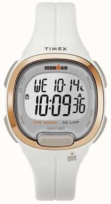 Timex Reloj de caballero esencial blanco y oro rosa TW5M19900SU