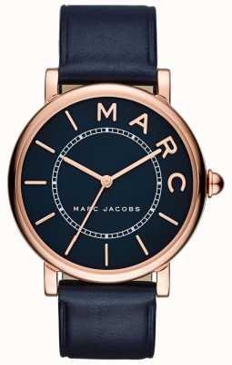 Marc Jacobs Reloj clásico marc jacobs para mujer de cuero marino MJ1534