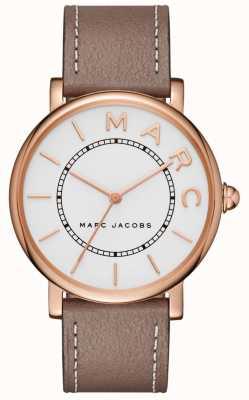 Marc Jacobs Reloj clásico para mujer marc jacobs gris cuero MJ1533