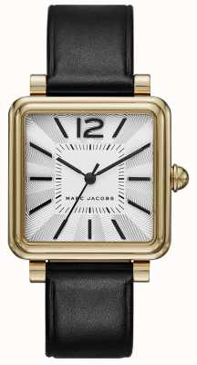 Marc Jacobs Reloj para mujer vic negro dial cuadrado MJ1437