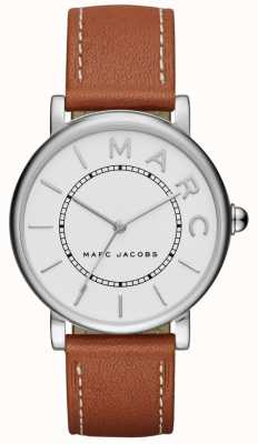 Marc Jacobs Reloj clásico para mujer marc jacobs marrón cuero MJ1571