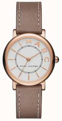 Marc Jacobs Reloj clásico para mujer marc jacobs gris cuero MJ1538