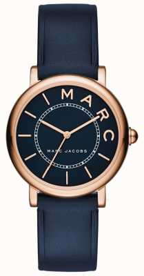 Marc Jacobs Reloj clásico marc jacobs para mujer de cuero marino MJ1539
