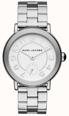 Marc Jacobs Reloj riley para mujer plateado MJ3469