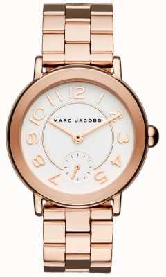 Marc Jacobs Reloj riley para mujer con tono dorado rosa MJ3471