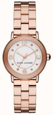 Marc Jacobs Reloj riley para mujer en tono dorado rosa (sin caja) MJ3474