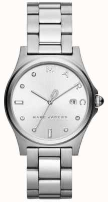 Marc Jacobs Henry para mujer reloj plateado MJ3599