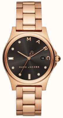 Marc Jacobs Reloj henry para mujer en tono dorado rosa MJ3600