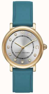 Marc Jacobs Leatherc de las mujeres marc jacobs reloj clásico leatherr MJ1633