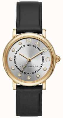 Marc Jacobs Reloj clásico para mujer marc jacobs black leatherr MJ1641