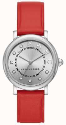 Marc Jacobs Reloj clásico marc jacobs para mujer de cuero rojo (sin caja) MJ1632