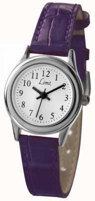 Limit Correa púrpura para mujer esfera blanca 6932