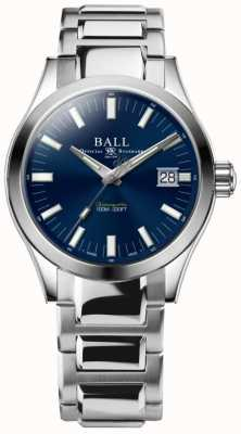 Ball Watch Company Ingeniero m marvelight para hombre, esfera azul de acero inoxidable de 40 mm NM2032C-S1C-BE