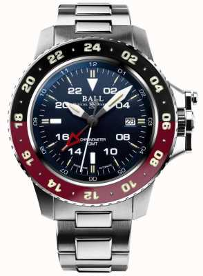 Ball Watch Company Ingeniero de hidrocarburos aerogmt ii 42mm esfera azul DG2018C-S3C-BE
