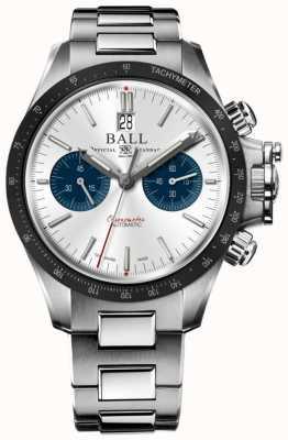 Ball Watch Company Ingeniero de hidrocarbono cronógrafo 42mm esfera plateada CM2198C-S1CJ-SL