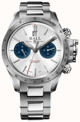 Ball Watch Company Ingeniero hidrocarburo racer cronógrafo 42mm esfera plateada CM2198C-S2CJ-SL