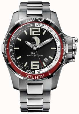 Ball Watch Company Reloj ingeniero marea hidrocarburo 42mm. DM3320C-SAJ-BK