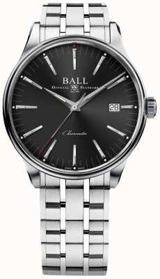 Ball Watch Company Trainmaster fabrica 80 horas de reserva de marcha 40mm NM3280D-S1CJ-BK