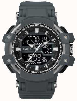 Timex Correa para hombre gris oscuro de 50 mm gris oscuro TW5M22600