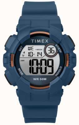 Timex Correa de mujer azul 44mm azul caja TW5M23500
