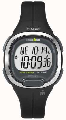 Timex Ironman essentials para mujeres 10 negro y cromo TW5M19600