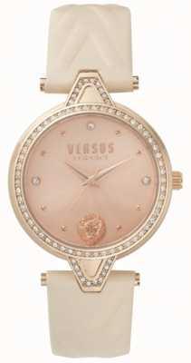 Versus Versace Juego de correa para mujer rosa y dorado rosa SPCI330017