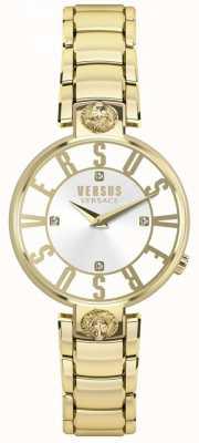 Versus Versace Pulsera kristenhof de oro con esfera dorada para mujer SP49060018