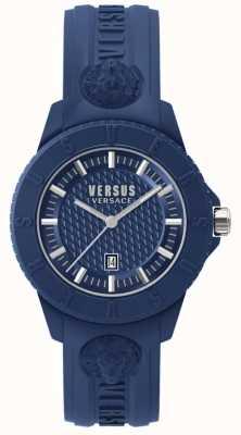 Versus Versace Tokyo r azul marcar silicona azul SPOY210018