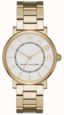 Marc Jacobs Pulsera clásica de pvd dorada para mujer. MJ3522