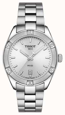 Tissot Mujeres pr 100 sport chic 36mm acero inoxidable plateado T1019101103100