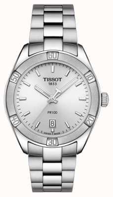 Tissot Mujer pr 100 sport chic 36 mm acero inoxidable plata T1019101103100