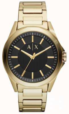Armani Exchange Reloj para hombre oro pvd plateado AX2619