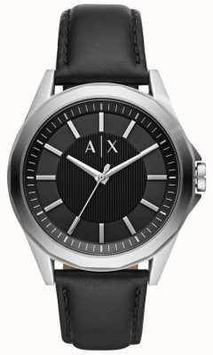 Armani Exchange Reloj para hombre correa negra AX2621