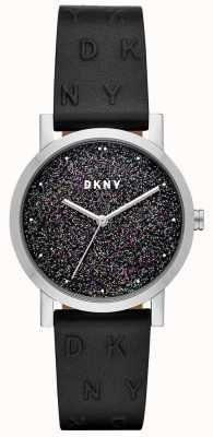 DKNY Dkny ladies soho watch correa de cuero negro NY2775