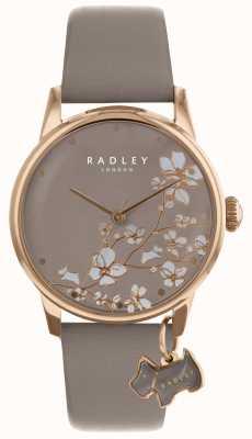 Radley Las señoras miran correa de flor que se arrastra RY2690