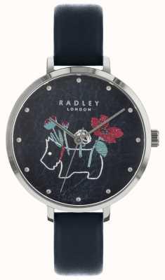 Radley Reloj floral con estampado de flores y perlas para mujer RY2681