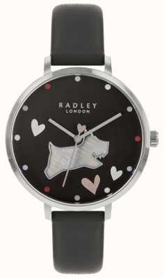 Radley Las señoras ven correa de tinta de perro negro RY2679