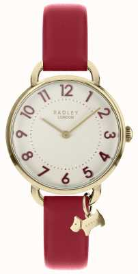 Radley Las señoras miran correa de hombro abierta oro pálido RY2686
