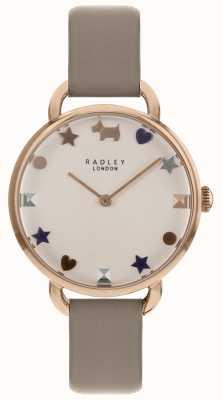 Radley Las señoras miran la correa de hombro abierta de oro rosa RY2698