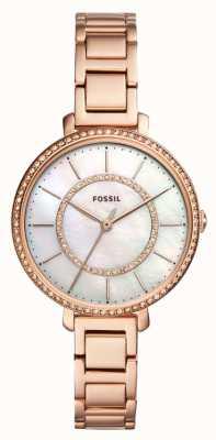 Fossil Jocelyn fósil rosa oro ES4452