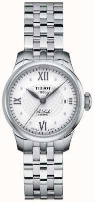 Tissot Reloj automático para mujer le locle thin diamond set T41118316